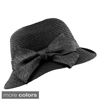 KC Signatures Classic Bettie Bucket Hat with Bow - Packable