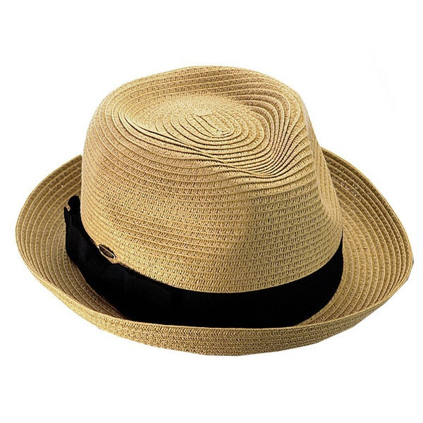 KC Signatures Packable Classic Fedora Grosgrain Ribbon