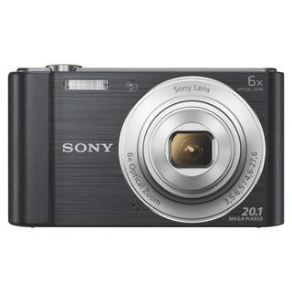 Sony Cyber-shot DSC-W810 20.1 Megapixel Compact Camera - Silver
