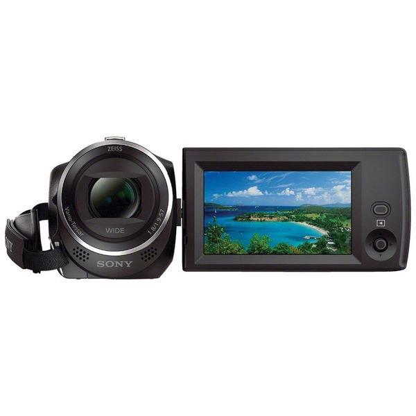 """Sony Handycam CX405 Digital Camcorder - 2.7"""" LCD - Exmor R CMOS - Ful"""