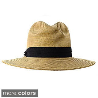 KC Signatures Packable Farrah Classic Panama Hat