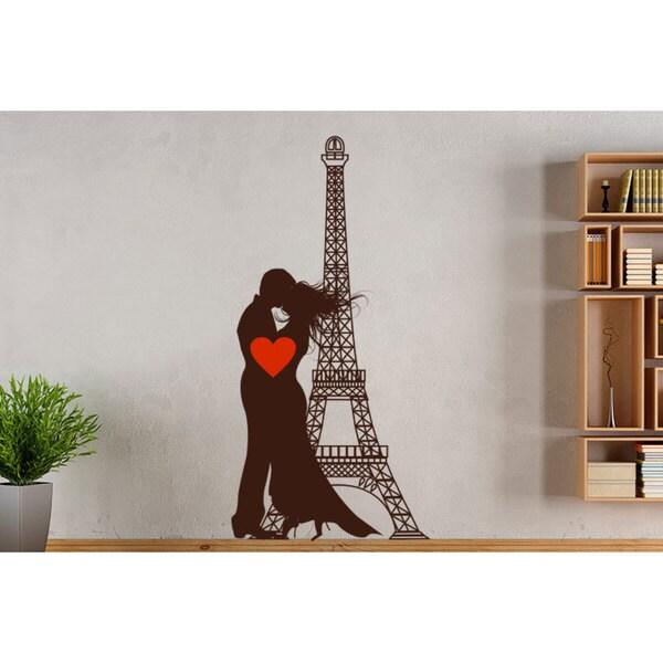 Paris France Rmance Vinyl Sticker Wall Art