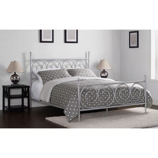 Charmers Moustache Silver Queen Bed