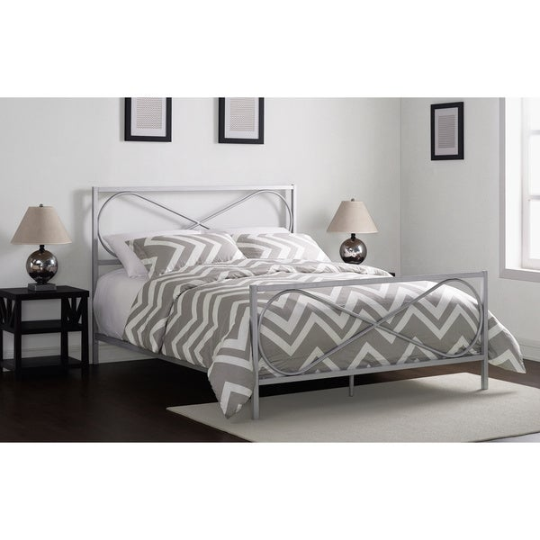 Charmers Infinity Silver Queen Bed