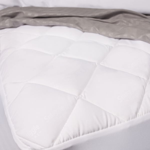 Snuggle Home Memory Foam Twin Size Mattress Pad (As Is Item)