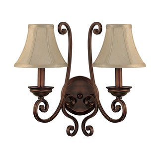 Capital Lighting Cumberland Collection 2-light Burnished Bronze Wall Sconce