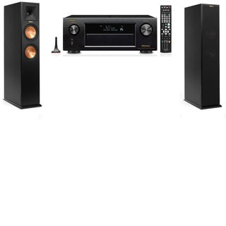 Klipsch RP-250F Tower Speakers-Denon AVR-X4100W