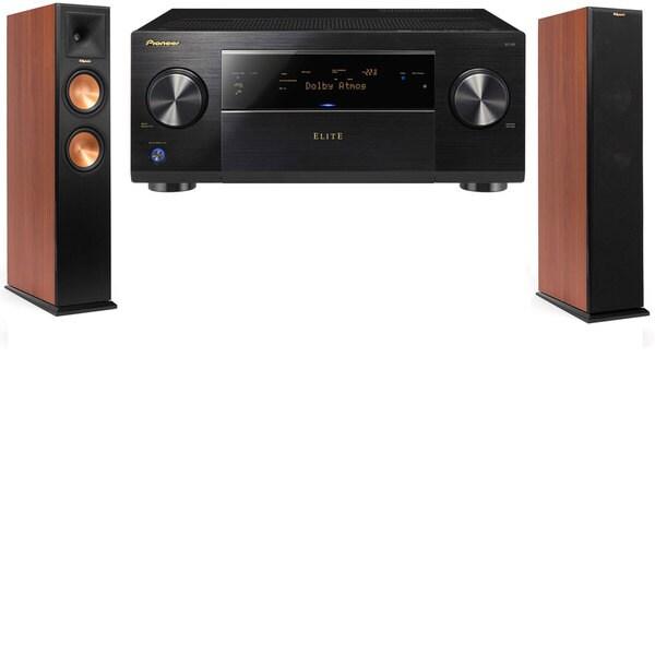 Klipsch RP-250F CH Tower Speakers-Pioneer Elite SC-85