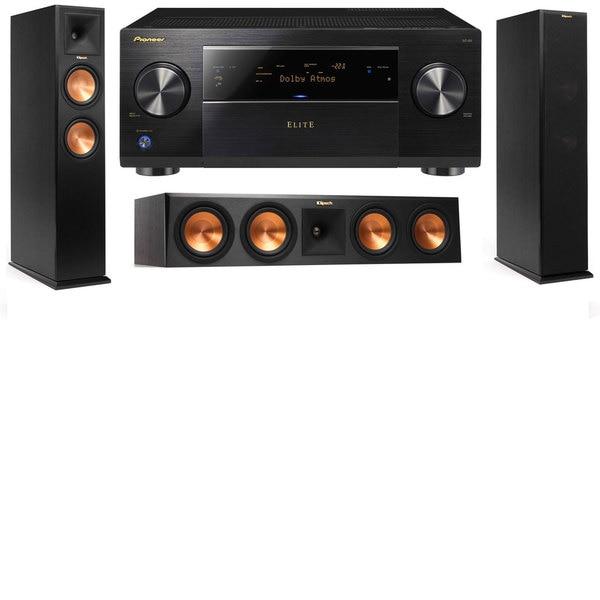 Klipsch RP-250F Tower Speakers-3.0-Pioneer Elite SC-85