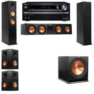 Klipsch RP-250F Tower Speakers-5.1-Onkyo TX-NR838