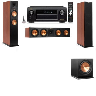 Klipsch RP-250F Tower Speakers CH-R112SW-3.1-Denon AVR-X4100W