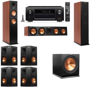 Klipsch RP-250F Tower Speakers CH-7.1-Denon AVR-X4100W