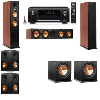 Klipsch RP-250F Tower Speakers CH-R112SW-5.2-Denon AVR-X4100W