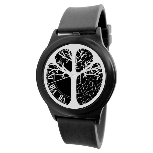 Time Peace The Presence /// Still Black Buddha Watch
