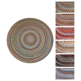 Augusta Round Braided Wool Rug by Rhody Rug (6' x 6')