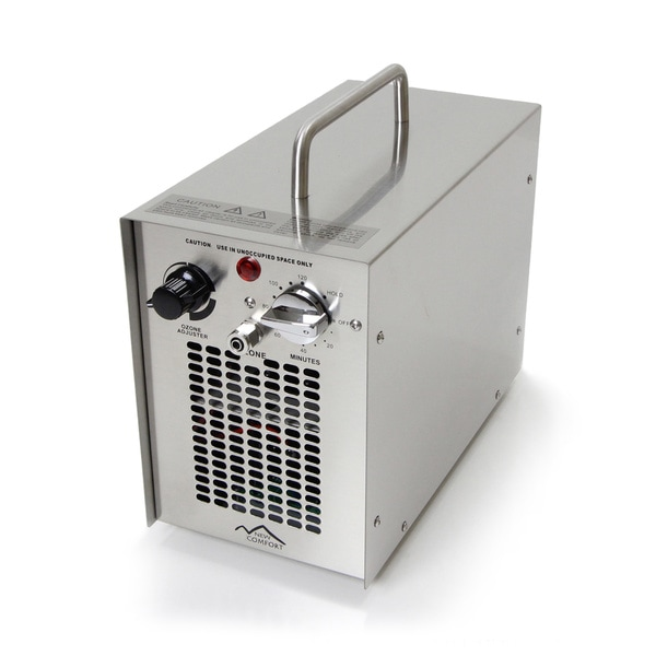 Stainless Dirk Commercial Water H20 Ozone Generator UV Air Purifier 5000 Mg Industrial Stregnth