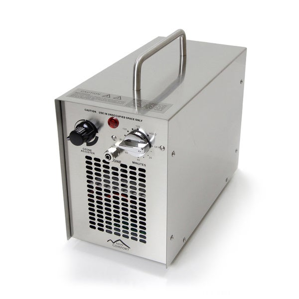 Stainless Steel Commercial Water H20 Ozone Generator UV Air Purifier 5000 Mg Industrial Stregnth 15503195