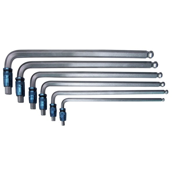 Astro Pneumatic Tool 3-in-1 Hex Key Wrench Set, 6-Piece