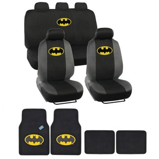 Warner Brothers Universal Fit Batman Seat Cover/ Accessories Set