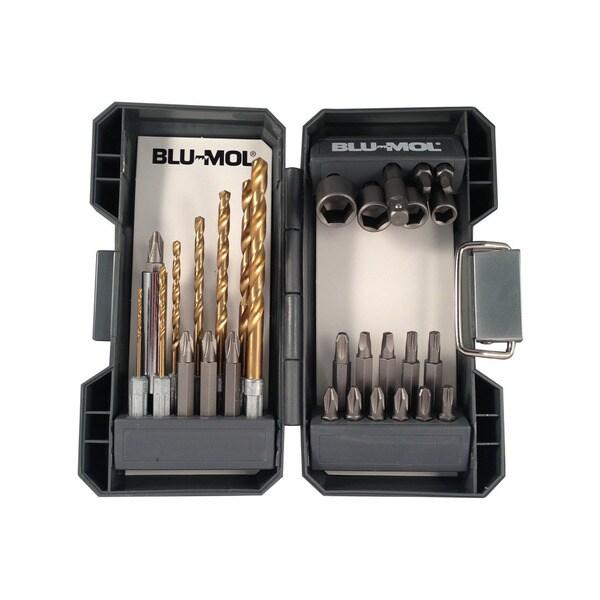 Disston Tool 30-piece Quick Change Titanium Drill Drive