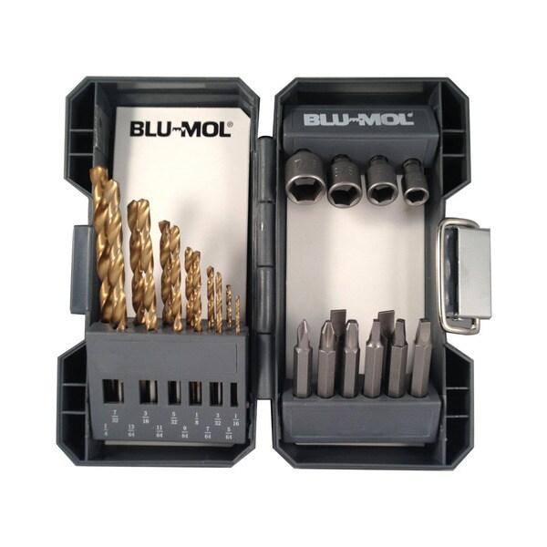 Disston Tool 24-piece Titanium Drill Drive Set