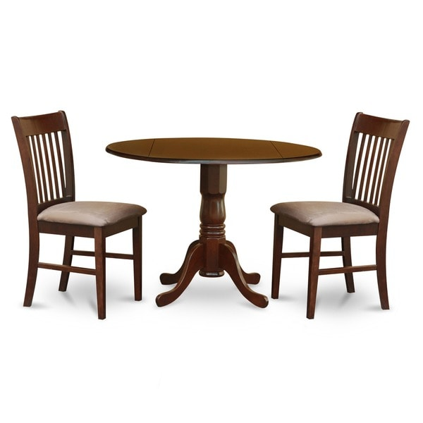 3-piece Kitchen Round Wooden Dining Set