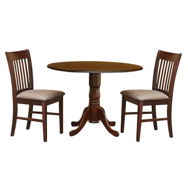 3-piece Kitchen Round Wooden Dining Set