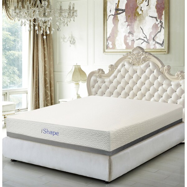 iShape Paradise 8-inch King-size Memory Foam Mattress