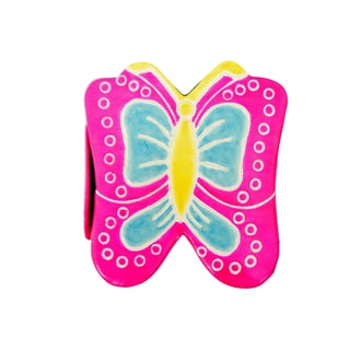 Handmade Butterfly Leather toy Bank (India)