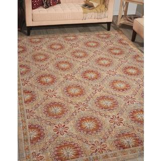 Barclay Butera Moroccan Crimson Area Rug by Nourison (5'3 x 7'5)