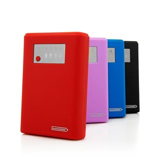 InstaCHARGE 12000mAh Portable Charger Power Bank with LED Flashlight and Pouch (Refurbished)