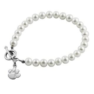 Clemson Freshwater Pearl Bracelet (5-6mm)