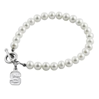 NC State Freshwater Pearl Bracelet (5-6mm)