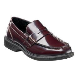 Boys' Nunn Bush Kent Jr. Classic Penny Loafer Burgundy Synthetic