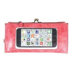 Women's Latico Mavis Phone Wallet 5664 Berry Leather