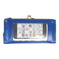 Women's Latico Mavis Phone Wallet 5664 Marine Leather