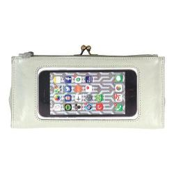 Women's Latico Mavis Phone Wallet 5664 Stone Leather