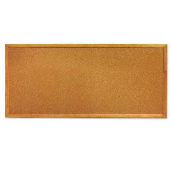 Quartet Classic 12 x 36 Slim Line Cork Bulletin Board