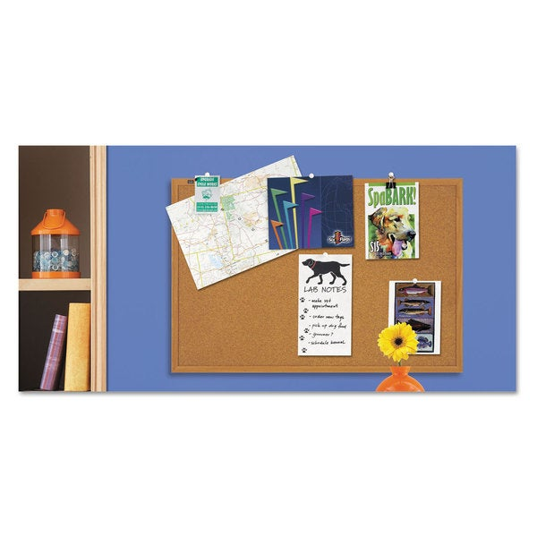 Quartet 36 x 24 Cork Bulletin Board