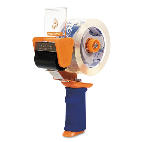 Duck Orange Bladesafe Antimicrobial Tape Gun w/Tape