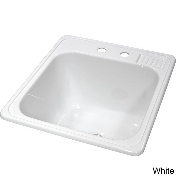 Kitchen Sink Wash Tub : ... Laundry Tub Sink - Overstock Shopping - Great Deals on Kitchen Sinks