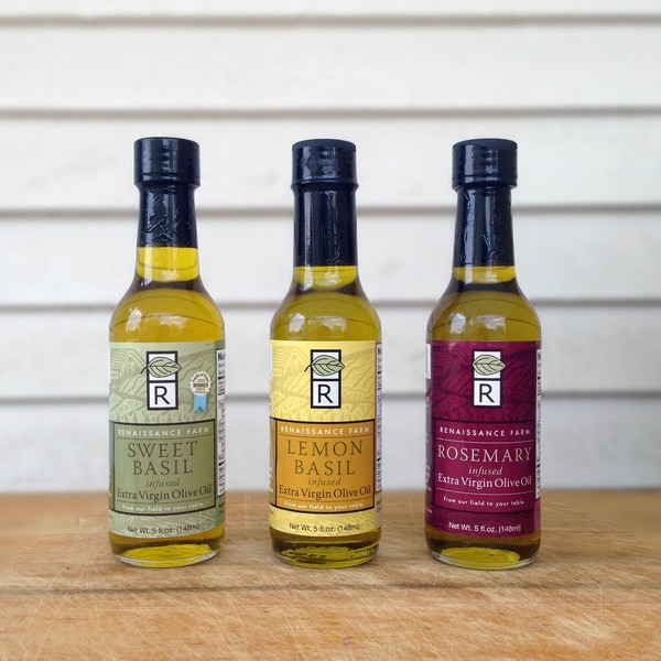 Wisconsin Food Hub Renaissance Farm Infused Olive Oil (Pack of 4)