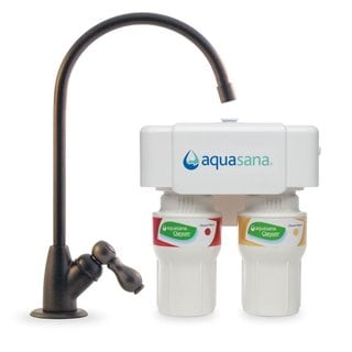 Aquasana Oil-rubbed Bronze 2-stage Under-counter Claryum Water Filter