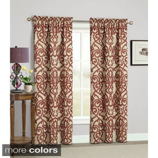 Pennington Rod Pocket Curtain Panels