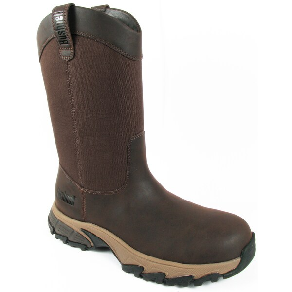 Leather and Rubber Rancher Boot