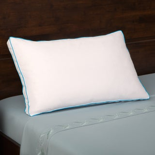 Grandeur Collection 300 Thread Count Cotton Feather and Down Compartment Pillow