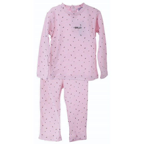 Bimbi Kids Sleep N Play Long Sleeve 2-piece Top and Pants Set - 12 Months to Size 12