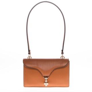 Valentino Studded Clasp Shoulder Bag