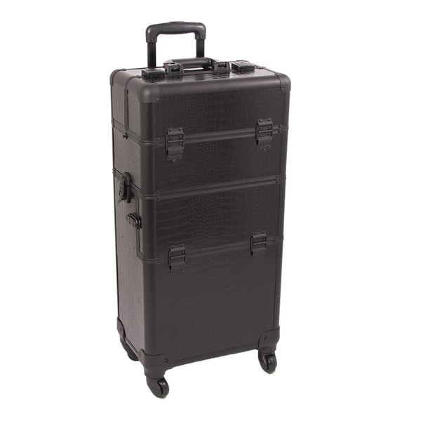 Sunrise Professional Rolling Trolley Makeup Case