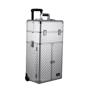 Sunrise Professional Easy-rolling Trolley Makeup Case